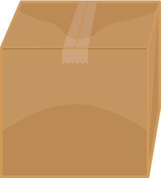 Free Cardboard Box Clipart, 1 page of Public Domain Clip Art.