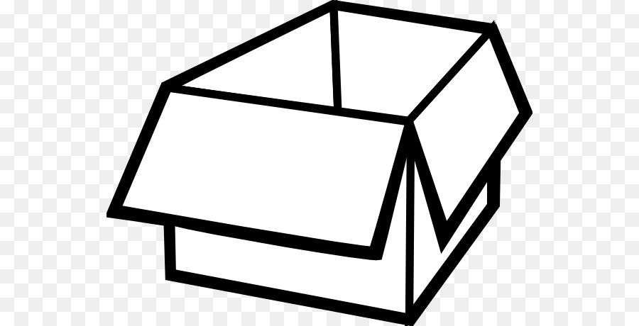 Cardboard Box png download.