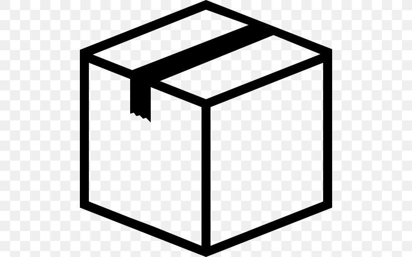 Cardboard Box Clip Art, PNG, 512x512px, Box, Area, Black.