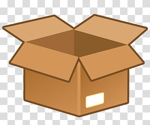 Cardboard Box transparent background PNG cliparts free.