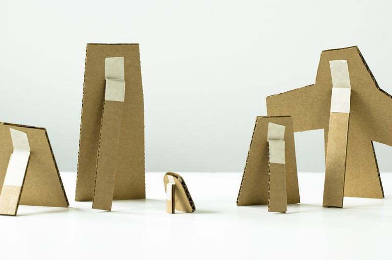 Made by Joel » Small Cardboard Cutouts.