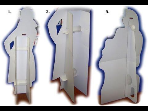 How To Cardboard Cutout DIY (Dr. NOOB's Lab).