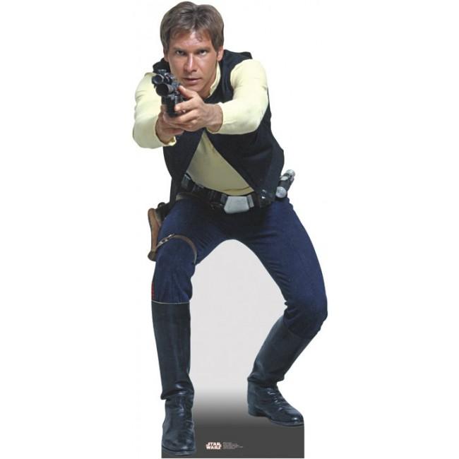 wars Life Size Cardboard Cutout: Han Solo.