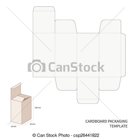 Vector Illustration of Vector packaging template.