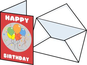 Birthday card clipart 4 » Clipart Station.