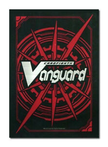 Details about CARDFIGHT!! VANGUARD Logo RED Promo Sleeves BUSHIROAD 53ct.