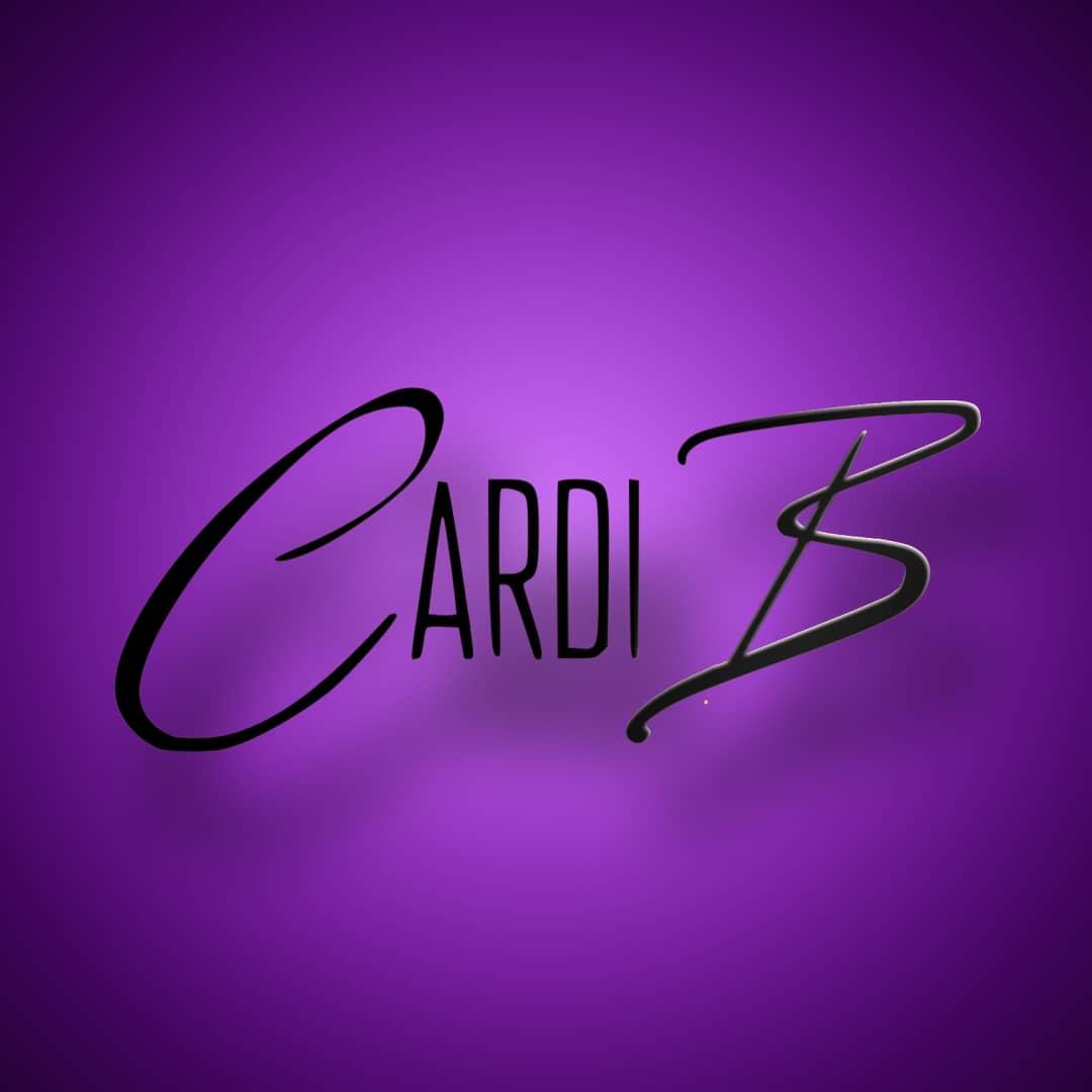 Cardi B Instagram Liquid Animation Logo.