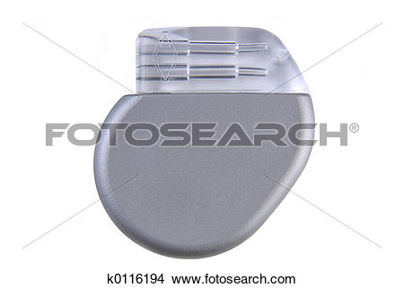 Stock Photo of Cardiac Pacemaker k0116194.