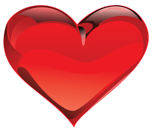 Large Red Heart Clipart.