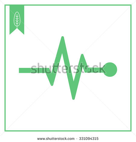 Heart Rhythm Stock Images, Royalty.