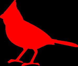 Cardinal Silhouette clip art.