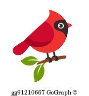 Cardinal Bird Clip Art.