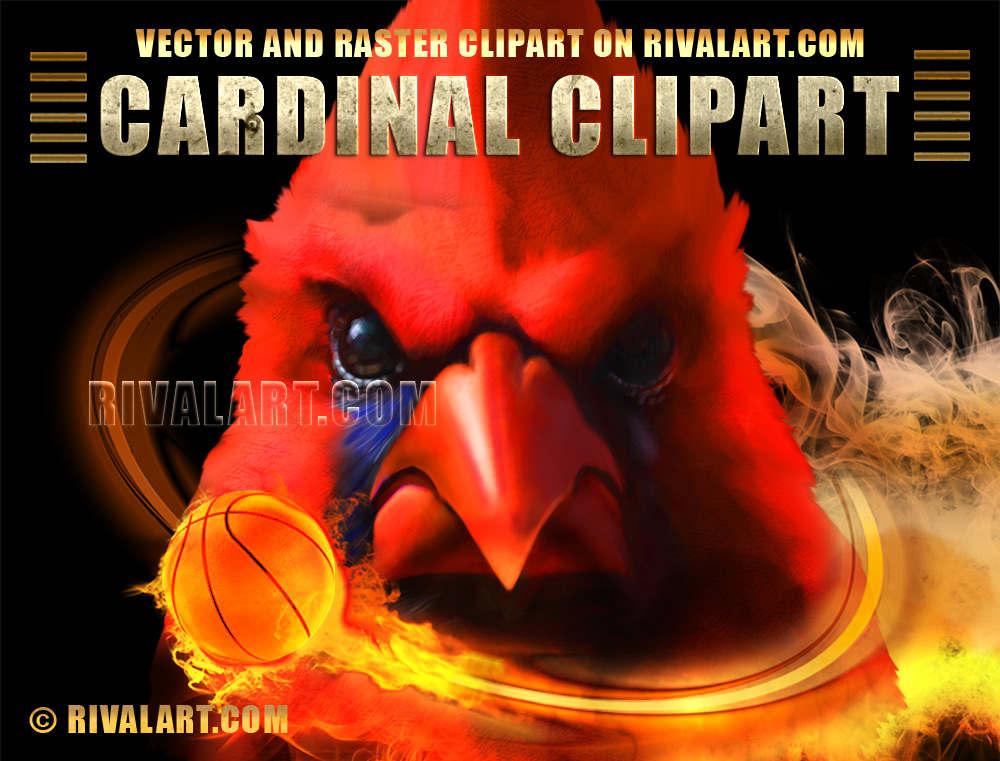 Cardinal Clipart on Rivalart.com.
