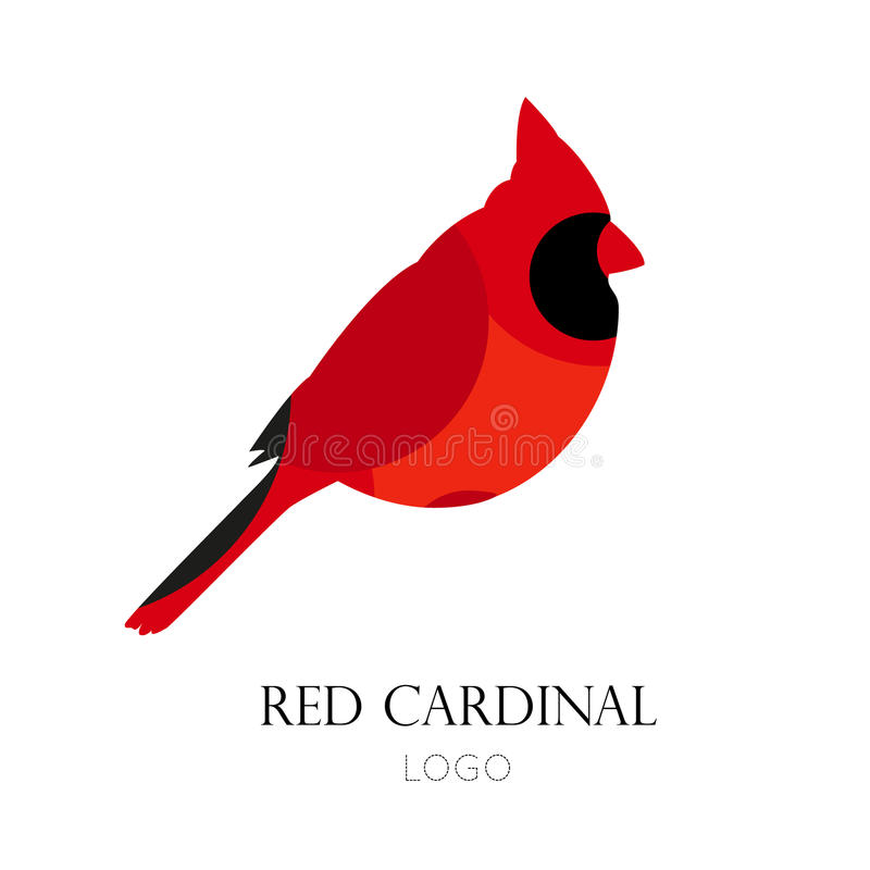 Cardinal Silhouette Stock Illustrations.