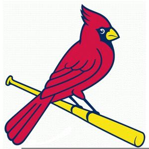 St Louis Cardinal Baseball Clipart.