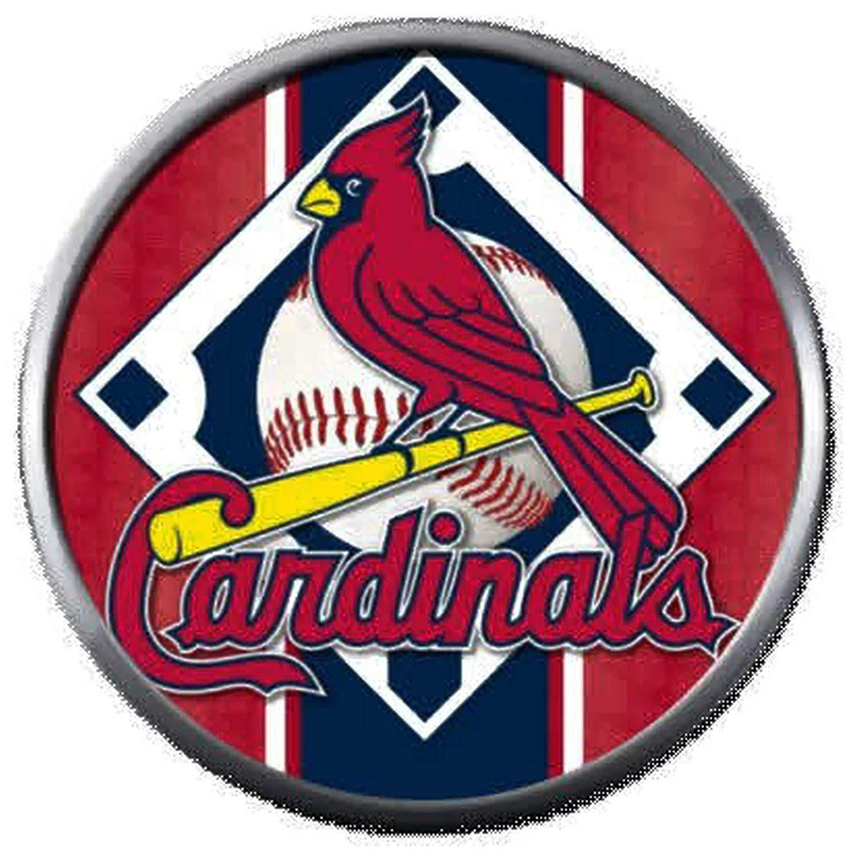 Bird On Baseball Field MLB St Louis Cardinals Logo 18MM.