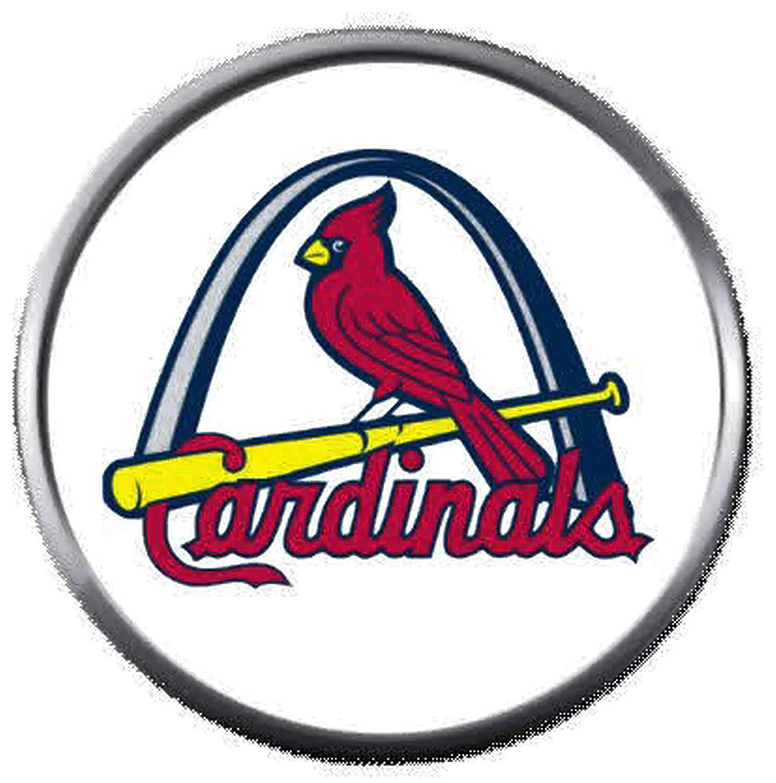 Amazon.com: MLB St Louis Arch Cardinals Baseball Logo 18MM.