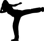 Cardio Kickboxing Clipart#1898631.