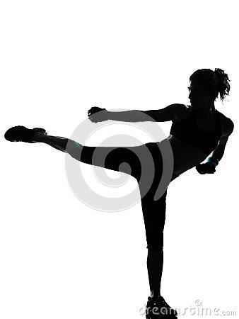 Cardio Kickboxing.
