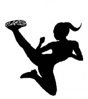 Kickboxing Clip Art.