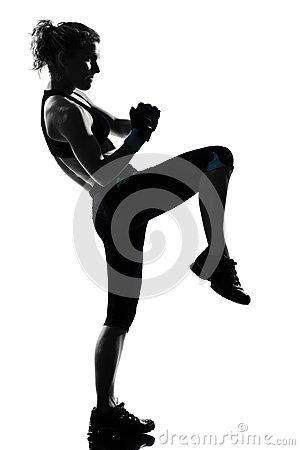 Cardio Kickboxing Clipart#1898638.