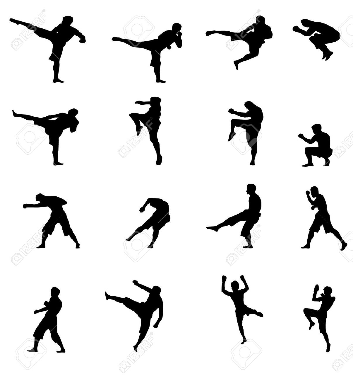 Showing post & media for Kickboxing symbol.