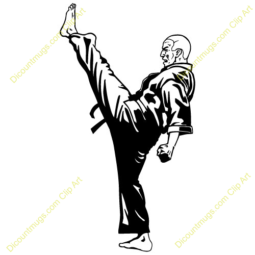 Gallery For Cardio Kickboxing Clip Art.