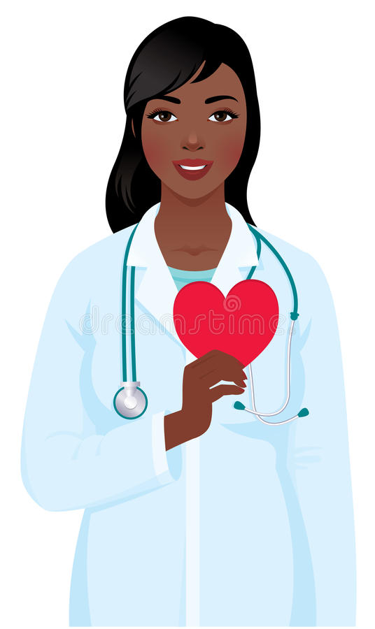 Woman Cardiologist Stock Illustrations.