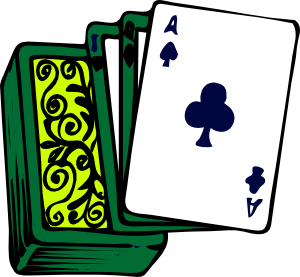 Bridge Playing Cards Clipart.