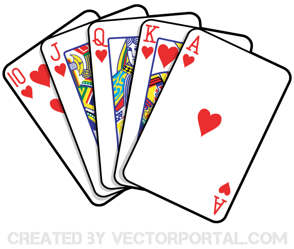 Playing Cards Clipart.