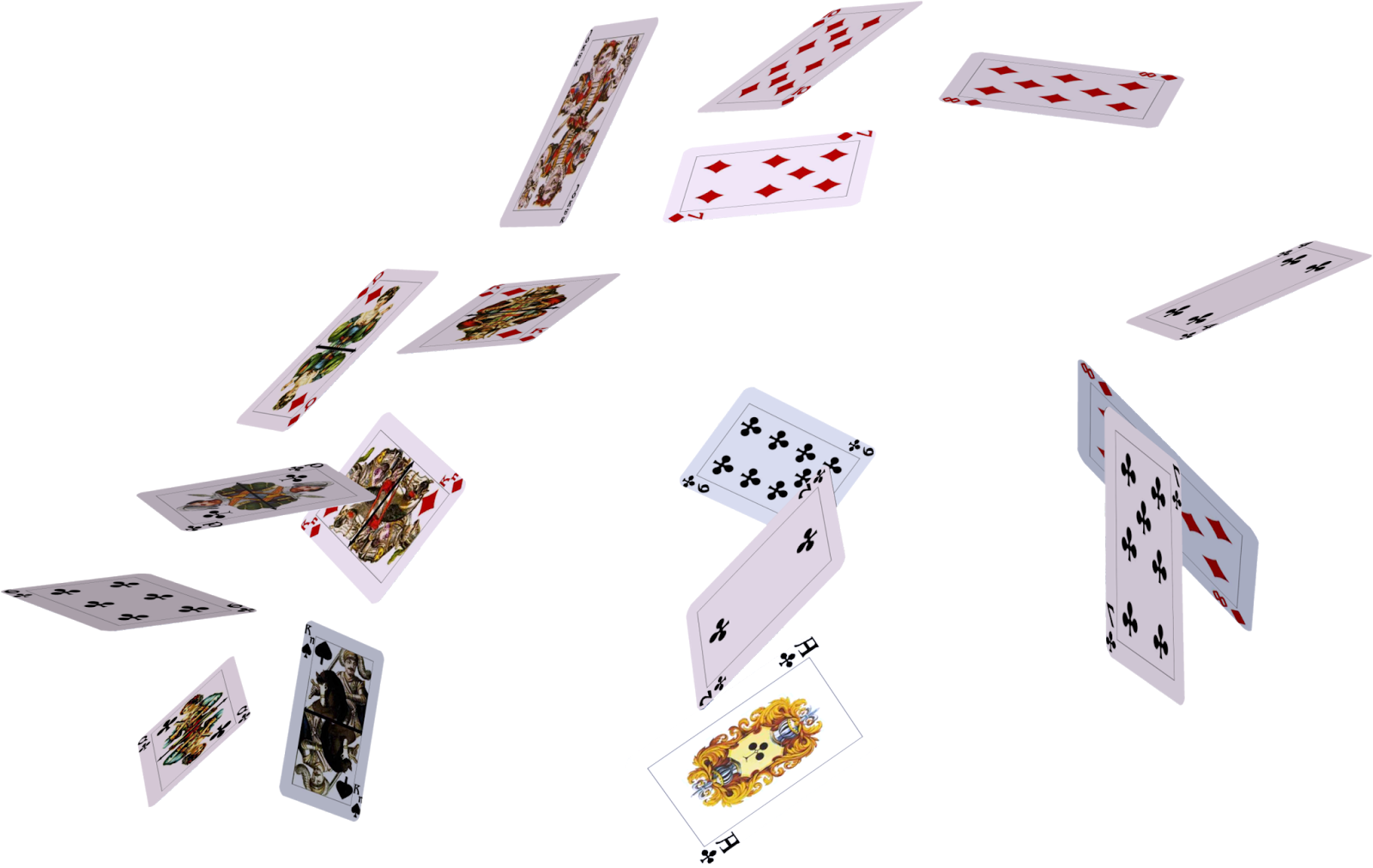 Playing Cards PNG Image.