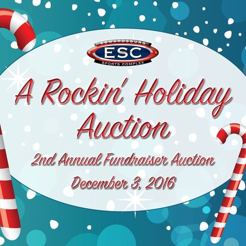 Rockin' Holiday Auction, Table of 8 — Edwardsburg Sports Complex.