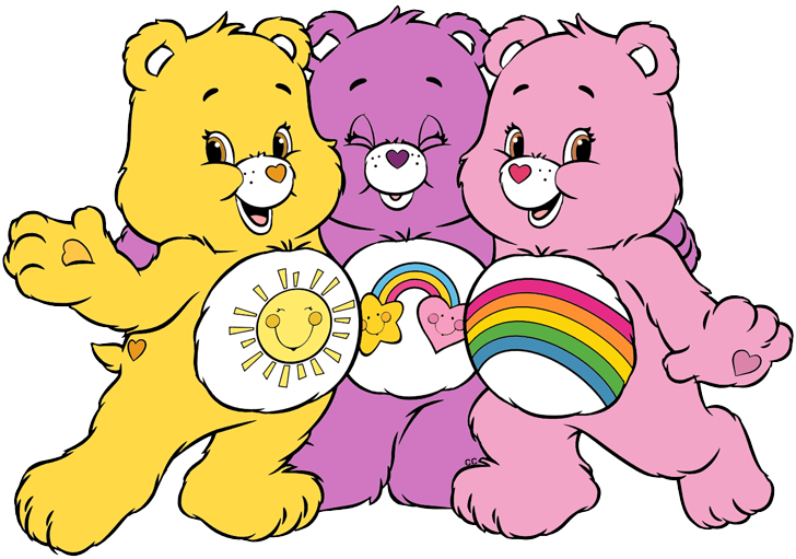 Care Bears and Cousins Clip Art.