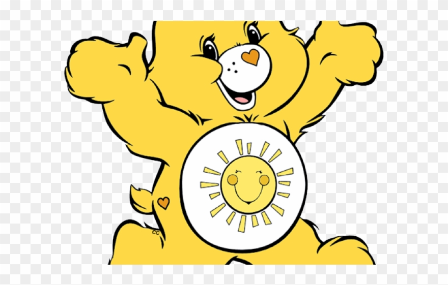 Yellow Clipart Care Bear.