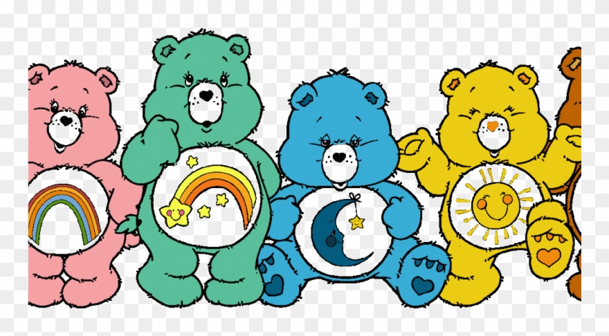 Care Bears Clipart (#1642200).