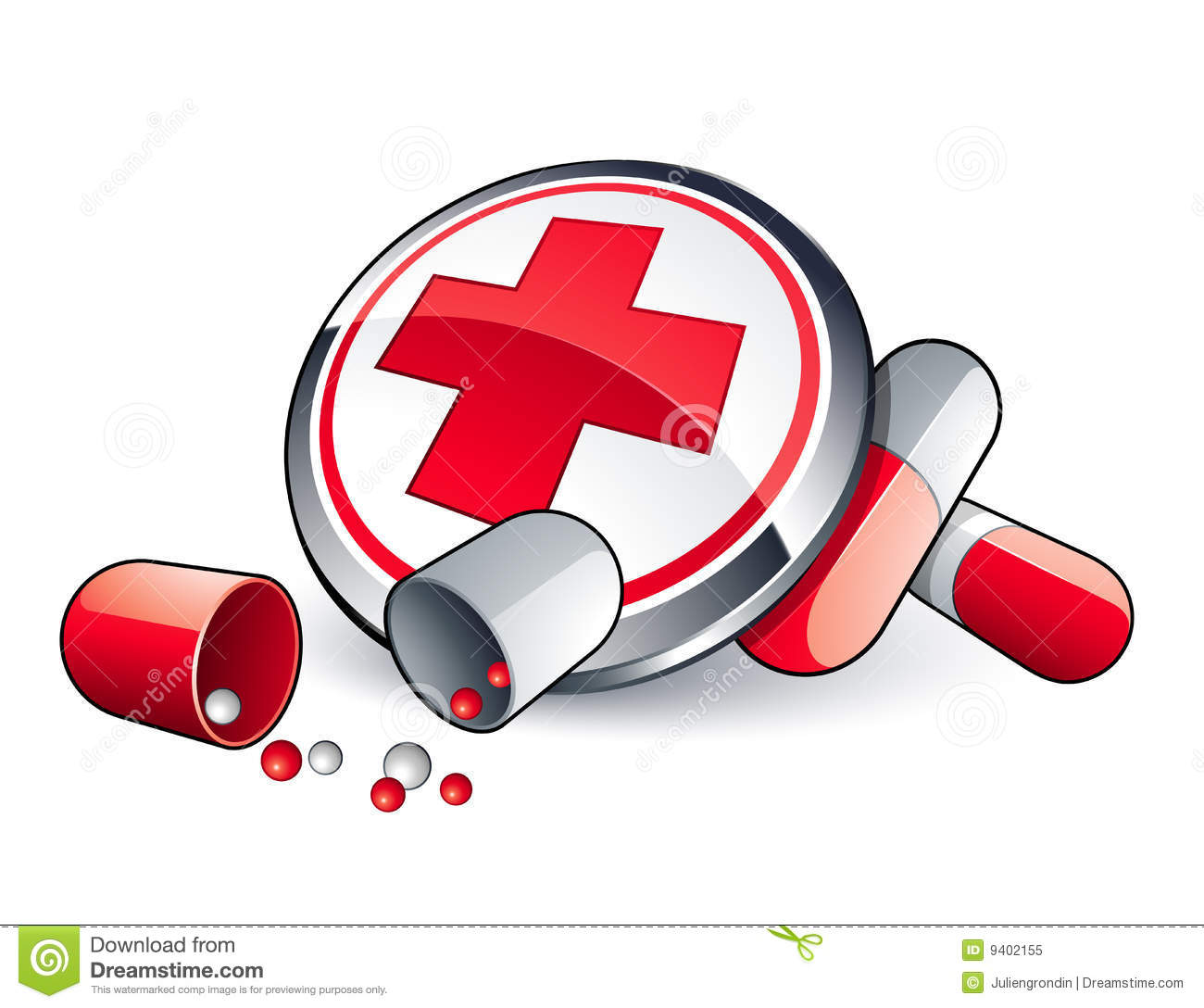 Pills And Health Care Royalty Free Stock Photo.