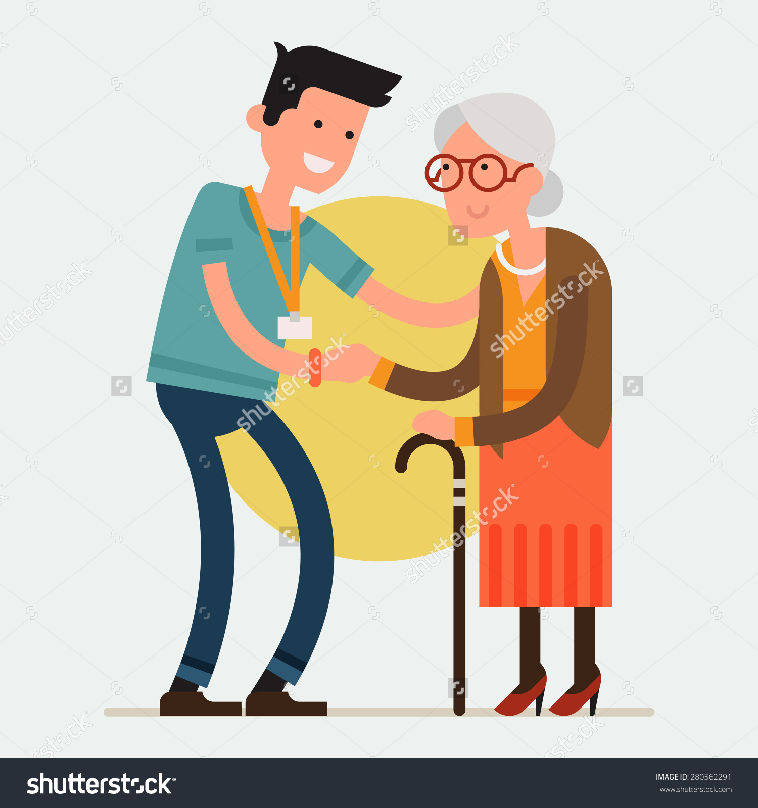 care for the elderly clipart clipground