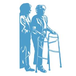 Elderly Care Services Clip Art.