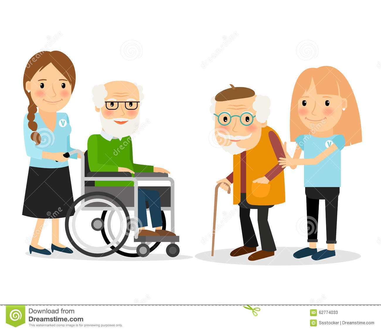 seniors helping seniors clipart - Clipground