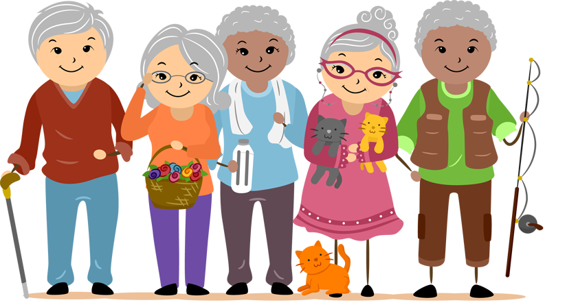 Senior Care Clipart.