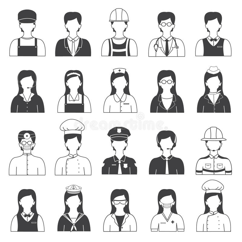 Career Clipart Black And White.