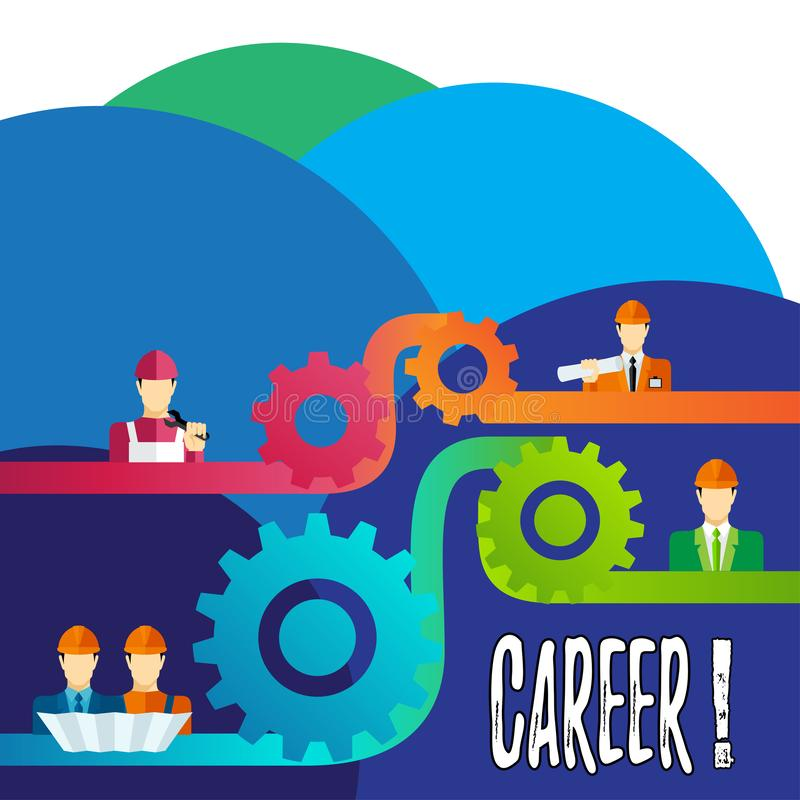 Career Guidance Stock Illustrations.