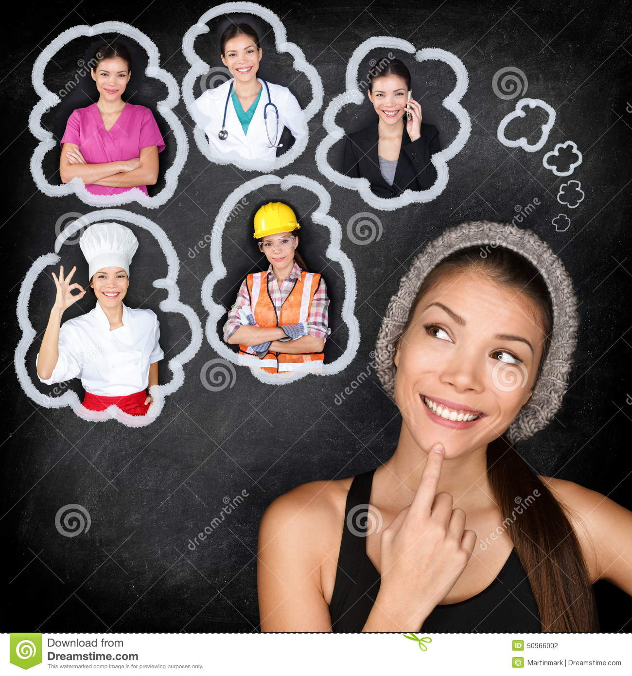 Education Career Student Thinking Future Stock Photos, Images.