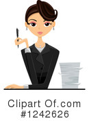 Career Woman Clipart #1.