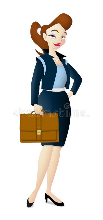 Career Woman Stock Illustrations.
