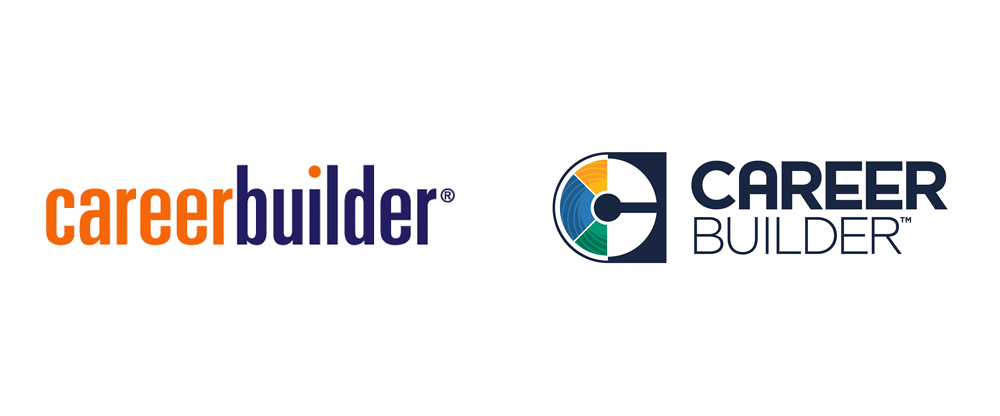 Brand New: New Logo for CareerBuilder done In.
