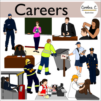 Careers Clip Art.