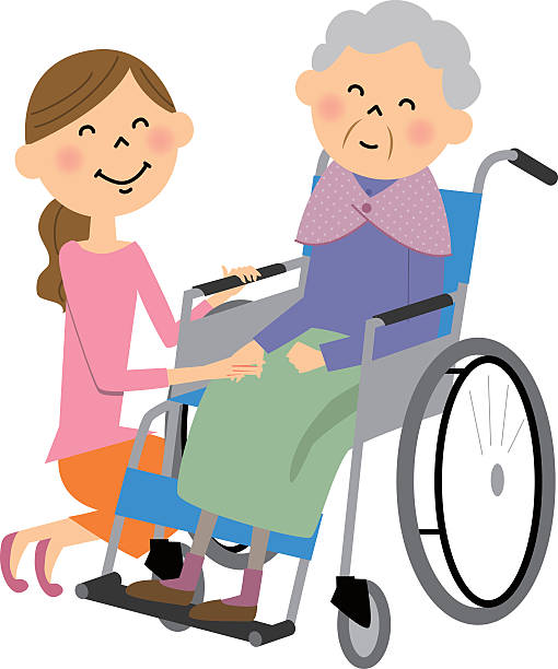Best Home Caregiver Illustrations, Royalty.