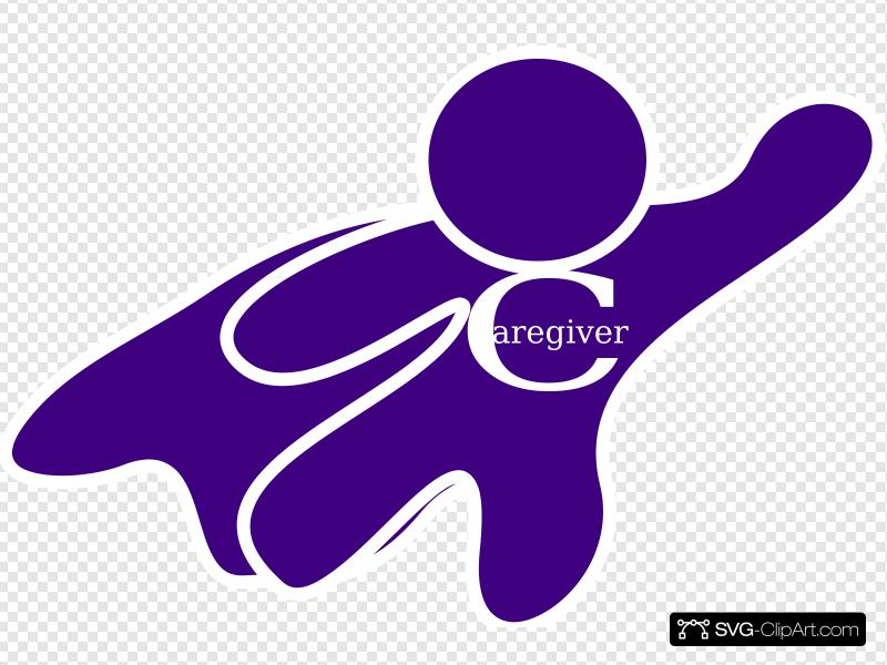 Caregiver Clip art, Icon and SVG.