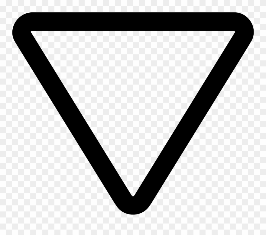 Triangle Arrow Icon.